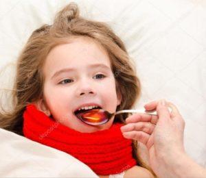 Вылечить горло у ребенка