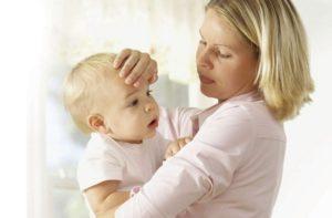 Ребенок температура 39 озноб красное горло