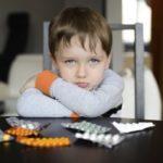 Что делать, если у ребенка температура 39 и красное горло?