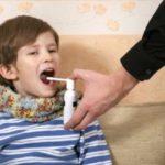 Спреи для лечения горла детям
