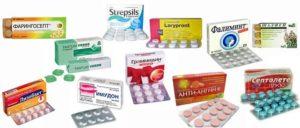 Лекарства для лечения тонзиллита