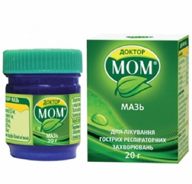 Мазь Доктор Мом для детей: для инструкция по применению детской мази от кашля, цена и отзывы