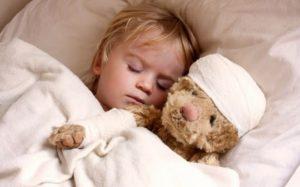 Лечение тонзиллита у маленького ребенка