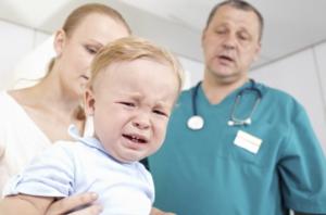 Первая помощь при ларингите ребенку